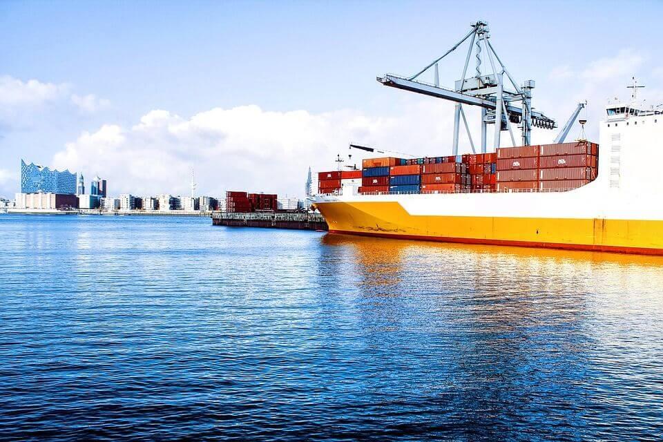 transporte marítimo de mercancias
